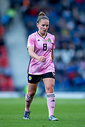 Kim Little (#8) of Scotland during the International Friendly match between Scotland Women and Jamaica Women at Hampden Park, Glasgow, United Kingdom on 28 May 2019.