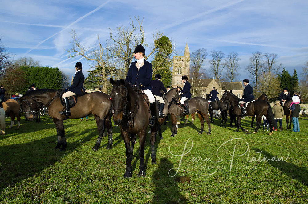 a day with The Duke of Beaufort Hunt