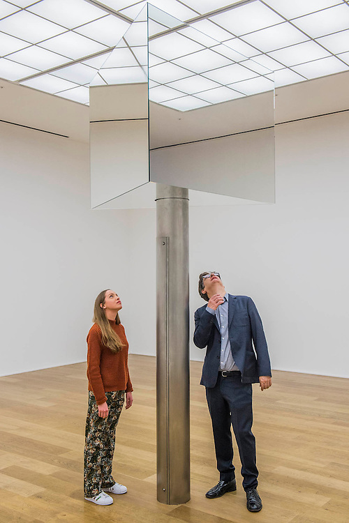 Supergo 2016 -  - Turner prize winning artist, Mark Wallinger, opens major solo show of all new works at Hauser & Wirth London, UK 25 Feb 2016
