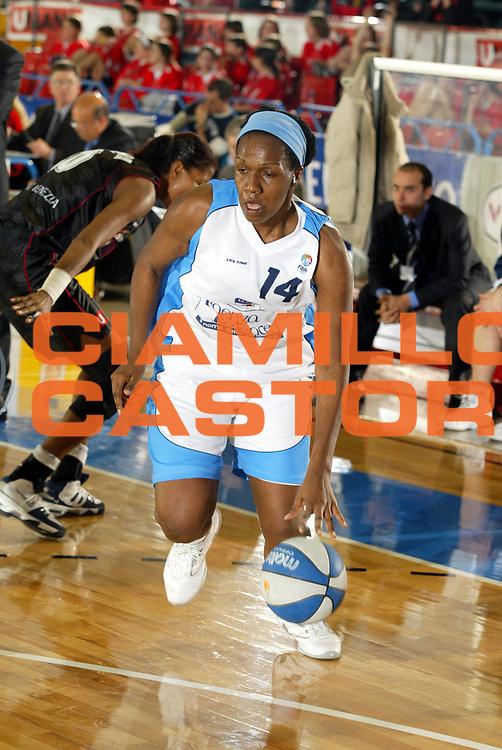 DESCRIZIONE : VENEZIA FINAL FOUR FIBA CUP 2004-2005<br />GIOCATORE : COELHO<br />SQUADRA : FAIENCE FAENZA<br />EVENTO : FINAL FOUR FIBA CUP 2004-2005<br />GARA : UMANA REYER VENEZIA-FAIENCE FAENZA<br />DATA : 09/02/2005<br />CATEGORIA : Palleggio<br />SPORT : Pallacanestro<br />AUTORE : Agenzia Ciamillo-Castoria