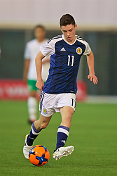 EDINBURGH, SCOTLAND - Friday, November 4, 2016: Scotland's Anthony McDonald in action against Republic of Ireland during the Under-16 2016 Victory Shield match at ORIAM. (Pic by David Rawcliffe/Propaganda)