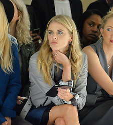 DONNA AIR at the Gyunel Spring Summer 2015 fashion show as part of London Fashion week 2015 held at Victoria House, Bloomsbury Square, London on 12th September 2014.