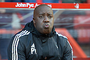 Nottingham Forest interim manager Paul Williams during the Sky Bet Championship match between Nottingham Forest and Blackburn Rovers at the City Ground, Nottingham, England on 19 April 2016. Photo by Jon Hobley.