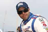 Vitor Meira, Road Runner Turbo Indy 300, Kansas Speedway, Kansas City, KS USA 27/4/08