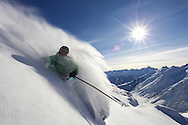 Skiing, Serre Chevalier
