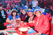 Fans waiting for the semi finals to begin.<br /> BDO World Darts Championships at  at Lakeside Country Club, Frimley Green, United Kingdom on 10 January 2015. Photo by Geoff Penn.