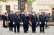 Dancing Procession of Echternach, Luxembourg (Whit Tuesday, 26 May 2015). The dancing procession in Echternach was inscribed on the UNESCO list of Intangible Cultural Heritage in 2010. © Rudolf Abraham