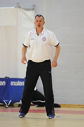 Bristol Flyers assistant manager, Nick Burns - Mandatory byline: Dougie Allward/JMP - 07966386802 - 01/09/2015 - BASKETBALL - SGS Wise Campus -Bristol,England - Bristol Flyers Pre-Season Training