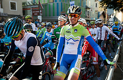 Domen Novak of Slovenia prior to the Men's Elite Road Race a 258.5km race from Kufstein to Innsbruck 582m at the 91st UCI Road World Championships 2018 / RR / RWC / on September 30, 2018 in Innsbruck, Austria. Photo by Vid Ponikvar / Sportida