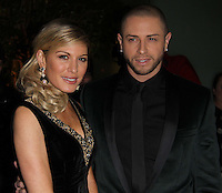 Brian Friedman; Hofit Golan The Nutcracker Gala Performance Reception Arrivals, St Martin's Lane Hotel, London, UK, 15 December 2010:  Contact: Ian@Piqtured.com +44(0)791 626 2580 (Picture by Richard Goldschmidt)