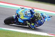 #29 Andrea Iannone, Italian: Team Suzuki Ecstar during Friday Practice at the MotoGP Gran Premio d'Italia Oakley at Autodromo del Mugello Circuit, Senni-San Carlo, Italy on 1 June 2018. Picture by Graham Holt.