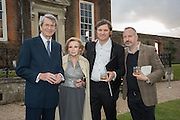 MARTIN LUTYENS; BEATRIZ LUTYENS; MARCOS LUTYENS; DOMINIC LUTYENSPerdurity: A Moving Banquet of Time. Royal Salute curates a timeless evening at Hampton Court Palace with Marcos Lutyens, 2 June 2015.