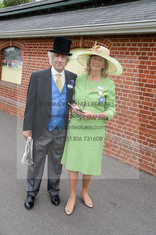 SIR MARTYN & LADY ARBIB at Day 1 of the 2013 Royal Ascot Racing Festival at Ascot Racecourse, Ascot, Berkshire on 18th June 2013.