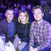 Stephen Street is a English music producer and family attend The Music Producers Guild Awards at Grosvenor House, Park Lane, on 27th February 2020, London, UK.