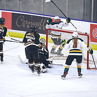 1st year forward, Adela Juzkova (24) of the Regina Cougars during the Women's Hockey Home Game on Fri Oct 19 at The Co-operators Arena. Credit: Arthur Ward/Arthur Images