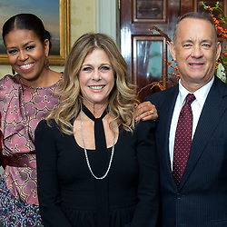 """Michelle Obama releases a photo on Instagram with the following caption: """"Congratulations to my amazing and extraordinarily talented friend, @ritawilson, on being honored with a star on the Hollywood Walk of Fame!  From your first star turn on The Brady Bunch, to producing your mega hits My Big Fat Greek Wedding and Mamma Mia, you are a true Hollywood legend."""". Photo Credit: Instagram *** No USA Distribution *** For Editorial Use Only *** Not to be Published in Books or Photo Books ***  Please note: Fees charged by the agency are for the agency's services only, and do not, nor are they intended to, convey to the user any ownership of Copyright or License in the material. The agency does not claim any ownership including but not limited to Copyright or License in the attached material. By publishing this material you expressly agree to indemnify and to hold the agency and its directors, shareholders and employees harmless from any loss, claims, damages, demands, expenses (including legal fees), or any causes of action or allegation against the agency arising out of or connected in any way with publication of the material."""