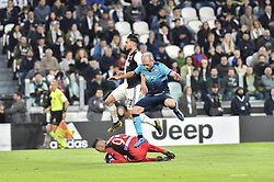 May 19, 2019 - Turin, Turin, Italy - Emre Can of Juventus FC and Pierluigi Gollini, Andrea Masiello,  of Atalanta BC during the Serie A match at Allianz Stadium, Turin (Credit Image: © Antonio Polia/Pacific Press via ZUMA Wire)