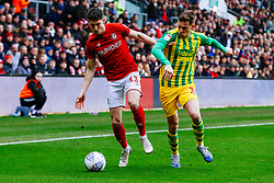 Callum O'Dowda of Bristol City is challenged by Conor Townsend of West Brom - Rogan/JMP - 22/02/2020 - Ashton Gate Stadium - Bristol, England - Bristol City v West Bromwich Albion - Sky Bet Championship.