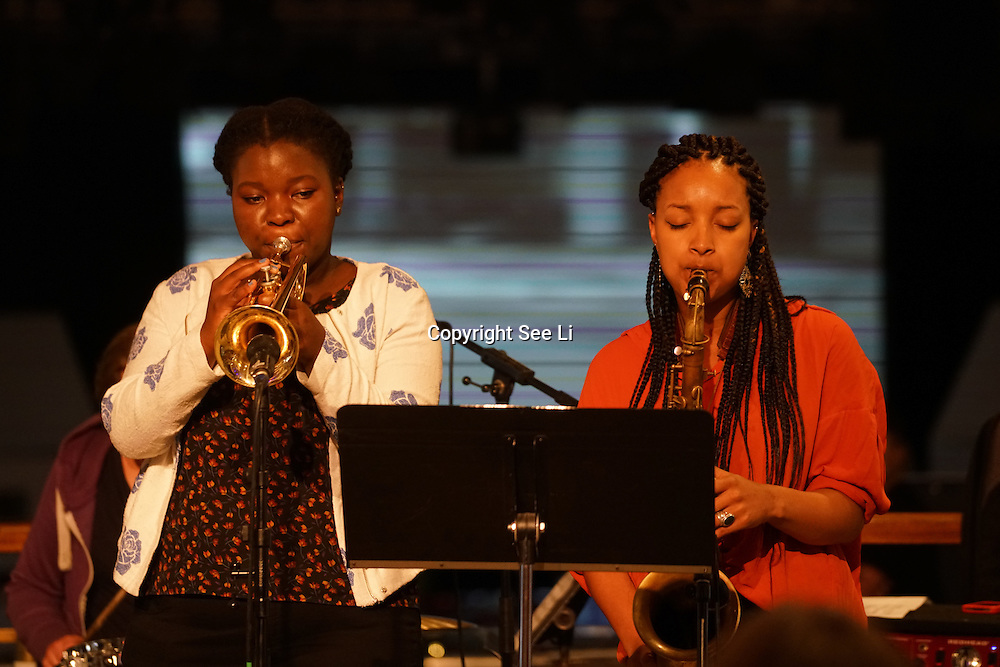London,England,UK, 19th Aug 2016 : Nérija 'blends jazz, afrobeat and hip hop' preforms at The Royal Festival,London,UK. Photo by See Li