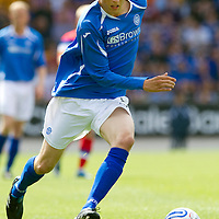 St Johnstone FC..season 2011-12<br /> Murray Davidson<br /> Picture by Graeme Hart.<br /> Copyright Perthshire Picture Agency<br /> Tel: 01738 623350  Mobile: 07990 594431