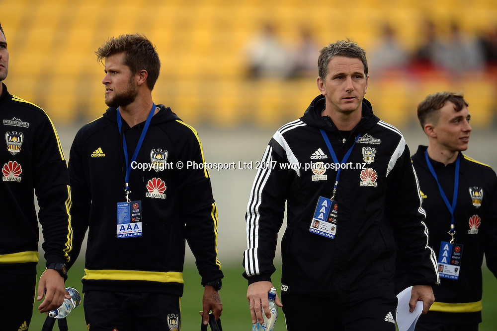 Phoenix coach Chris Greenacre seen during the Huawei Mobile Sister City Cup, Wellington Phoenix vs Beijing BG, Westpac Stadium, Wellington, Tuesday 13th February 2017. Copyright Photo: Raghavan Venugopal / www.photosport.nz