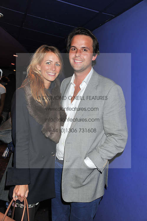CHARLIE GILKES and ANNEKE VON TROTHA TAYLOR at a private screening of the film The Iron Lady hosted by nightclub Maggie's held at Cineworld, King's Road, London on 19th January 2012.