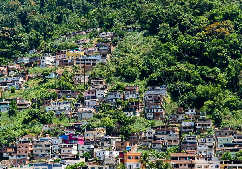Vista parcial da cidade, Angra dos Reis - RJ, 01/2014.