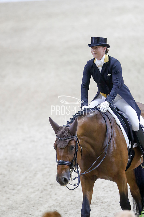 Isabell Werth on Emilio during the Equestrian FEI World Cup Dressage Lyon 2017 on November 2, 2017 at Eurexpo Lyon in Chassieu, near Lyon, France - Photo Romain Biard / Isports / ProSportsImages / DPPI