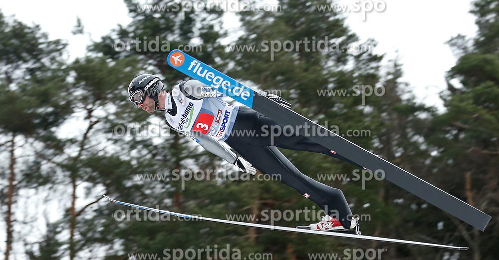 04.01.2014, Bergisel Schanze, Innsbruck, AUT, FIS Ski Sprung Weltcup, 62. Vierschanzentournee, Probesprung, im Bild Wolfgang Loitzl (AUT) // Wolfgang Loitzl of Austria during Trial Jump of 62nd Four Hills Tournament of FIS Ski Jumping World Cup at the Bergisel Schanze, Innsbruck, Austria on 2014/01/04. EXPA Pictures © 2014, PhotoCredit: EXPA/ Peter Rinderer