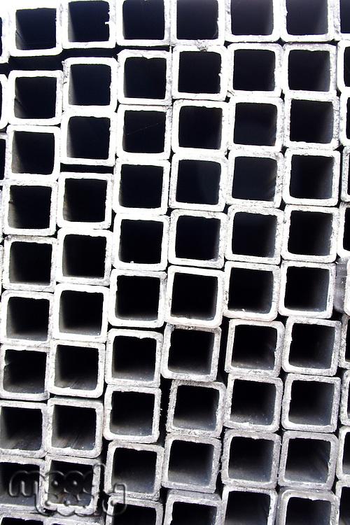 Metal tube - close-up