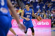 DESCRIZIONE : Berlino Eurobasket 2015 Islanda Italia<br /> GIOCATORE : Andrea Cinciarini<br /> CATEGORIA : palleggio<br /> SQUADRA : Italia<br /> EVENTO : Eurobasket 2015<br /> GARA : Islanda Italia<br /> DATA : 06/09/2015<br /> SPORT : Pallacanestro<br /> AUTORE : Agenzia Ciamillo&shy;Castoria/M.Longo<br /> Galleria : Eurobasket 2015<br /> Fotonotizia : Berlino Eurobasket 2015 Islanda Italia