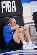 DESCRIZIONE: Torino FIBA Olympic Qualifying Tournament Allenamento<br /> GIOCATORE: Ettore Messina<br /> CATEGORIA: Nazionale Italiana Italia Maschile Senior  Allenamento<br /> GARA: FIBA Olympic Qualifying Tournament Allenamento<br /> DATA: 07/07/2016<br /> AUTORE: Agenzia Ciamillo-Castoria