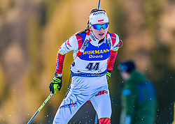 15.01.2020, Chiemgau Arena, Ruhpolding, GER, IBU Weltcup Biathlon, Sprint, Damen, im Bild Monika Hojnisz-Starega (POL) // Monika Hojnisz-Starega of Poland during the women sprint competition of BMW IBU Biathlon World Cup at the Chiemgau Arena in Ruhpolding, Germany on 2020/01/15. EXPA Pictures © 2020, PhotoCredit: EXPA/ Stefan Adelsberger