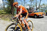 Marek Rutkiewicz - CCC Sprandi Polkowice - 29.05.2015 - Tour d'Italie - Etape 19 :  Gravellona Toce / Cervinia<br />Photo : Sirotti / Icon Sport