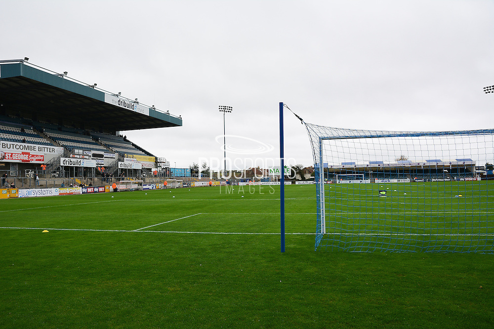 Memorial Stadium during the The FA Cup match between Bristol Rovers and Chesham FC at the Memorial Stadium, Bristol, England on 8 November 2015. Photo by Alan Franklin.