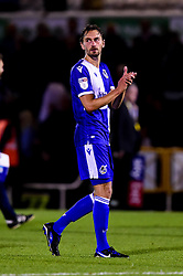 Edward Upson of Bristol Rovers after the final whistle of the match - Mandatory by-line: Ryan Hiscott/JMP - 20/08/2019 - FOOTBALL - Memorial Stadium - Bristol, England - Bristol Rovers v Tranmere Rovers - Sky Bet League One
