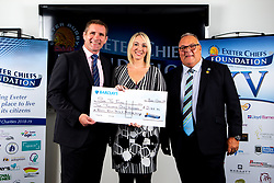 See The Future - Mandatory by-line: Robbie Stephenson/JMP - 03/10/2019 - RUGBY - Sandy Park - Exeter, England - Exeter Chiefs 2019 Season Kick Off Dinner
