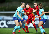 International Women's Friendly Matchs 2019 / <br /> Womens's Algarve Cup Tournament 2019 - <br /> Spain v Netherlands 2-0 ( Municipal Da Bela Vista Stadium- Parchal,Portugal ) - <br /> Andrea Pereira of Spain (Middle)
