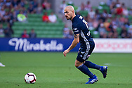 MELBOURNE, AUSTRALIA - APRIL 14: James Troisi (10) of the Victory looks on during round 25 of the Hyundai A-League match between Melbourne Victory and Central Coast Mariners on April 14, 2019 at AAMI Park in Melbourne, Australia. (Photo by Speed Media/Icon Sportswire)