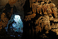 France, Languedoc Roussillon, Hérault, Saint Bauzille de Putois, la grotte des Demoiselles, l'entrée naturelle