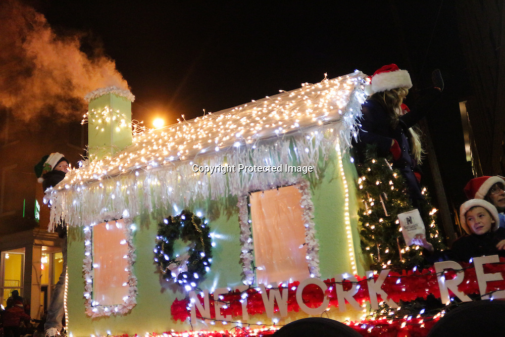 Network Real Estate participates in the 12th Annual Wilmington Holiday Parade Sunday December 7, 2014 in Wilmington, N.C. (Jason A. Frizzelle)