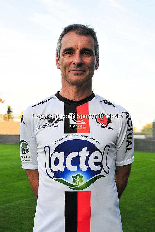Denis Zanko - 17.09.2014 - Photo officielle Laval - Ligue 2 2014/2015<br /> Photo : Philippe Le Brech / Icon Sport