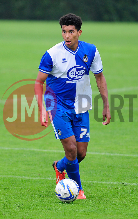 Bristol Rovers' U18s Aaron Ward-Baptise - Photo mandatory by-line: Dougie Allward/JMP - Tel: Mobile: 07966 386802 28/09/2013 - SPORT - FOOTBALL - Ashton Gate - Bristol - Bristol Rovers U18s V Newport AFC - Youth Cup