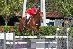Ward Mclain (USA) - Rothchild<br /> Furusiyya FEI Nations Cup Jumping Final Round 1<br /> CSIO Barcelona 2013<br /> © Dirk Caremans