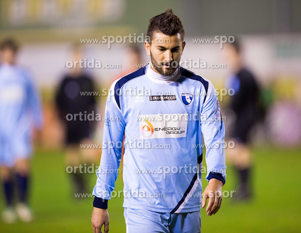 Massimo Coda of Gorica during football game between NK Rudar and ND Gorica in 1st Leg of Semifinal of Slovenian Cup 2013/14, on March 26, 2014 in Velenje, Stadion Ob jezeru, Slovenia. Photo by Vid Ponikvar / Sportida