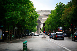 FRANCE PARIS 27JUL07 - View of the Arc de Triomphe from the Avenue de Friedland.. . jre/Photo by Jiri Rezac. . © Jiri Rezac 2007. . Contact: +44 (0) 7050 110 417. Mobile:  +44 (0) 7801 337 683. Office:  +44 (0) 20 8968 9635. . Email:   jiri@jirirezac.com. Web:    www.jirirezac.com. . © All images Jiri Rezac 2007 - All rights reserved.