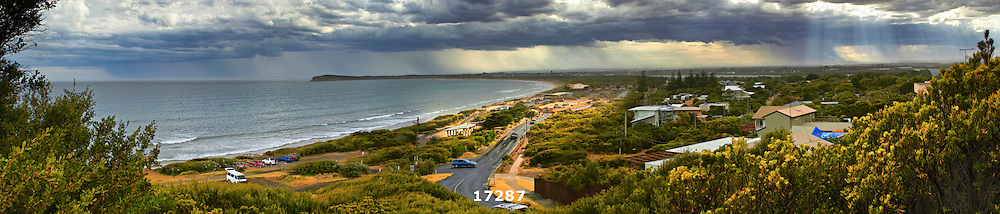 storm over Barwon Heads