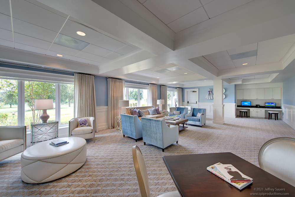 Woodmont Country Club interior photo in Rockville Maryland by Jeffrey Sauers of Commercial Photographics, Architectural Photo Artistry in Washington DC, Virginia to Florida and PA to New England