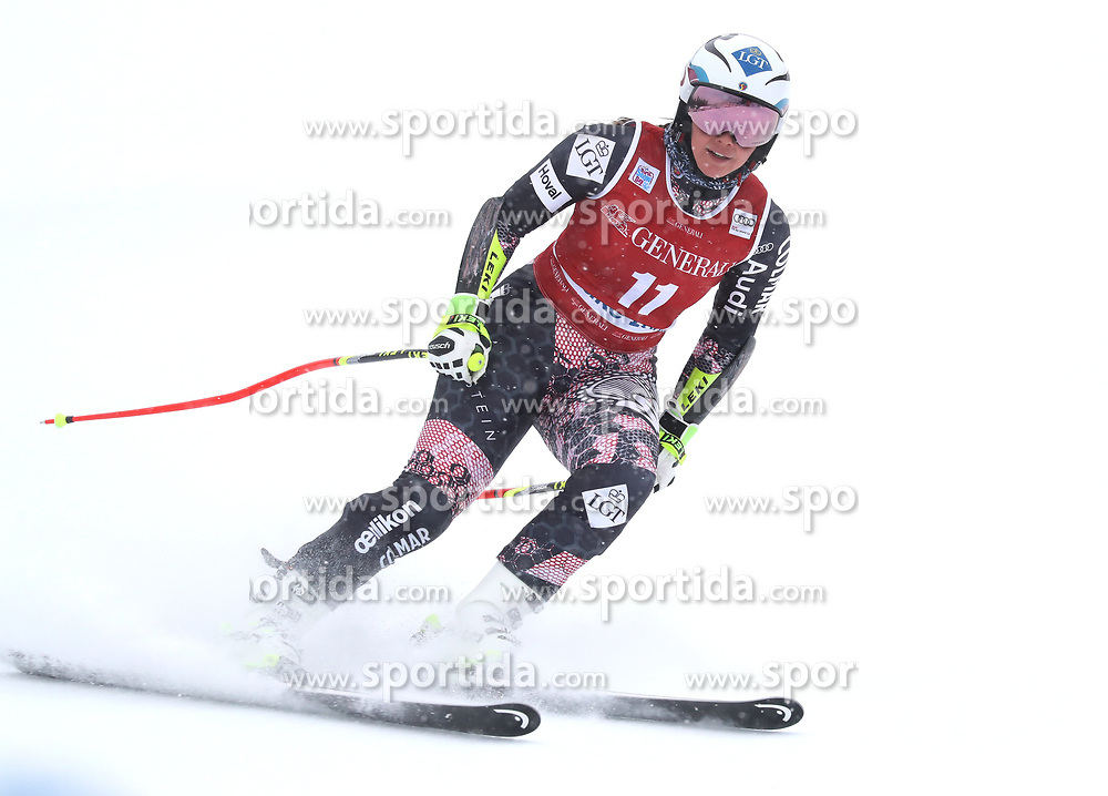 28.11.2017, Lake Louise, CAN, FIS Weltcup Ski Alpin, Lake Louise, Abfahrt, Damen, 1. Training, im Bild Tina Weirather (SUI) // Tina Weirather of Switzerland during the 1st practice run of ladie's Downhill of FIS Ski Alpine World Cup in Lake Louise, Canada on 2017/11/28. EXPA Pictures &copy; 2017, PhotoCredit: EXPA/ Sammy Minkoff<br /> <br /> *****ATTENTION - OUT of GER*****