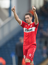 Stewart Downing of Middlesbrough at the final whistle - Mandatory by-line: Jack Phillips/JMP - 17/02/2019 - FOOTBALL - Ewood Park - Blackburn, England - Blackburn Rovers v Middlesbrough - English Football League Championship